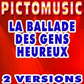 La ballade des gens heureux (Version karaok�) - Single