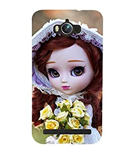 PRINTSOPPII CUTE DOLL Back Case Cover for Asus Zenfone Max ZC550KL::Asus Zenfone Max ZC550KL (2016)