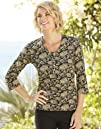 Orvis Womens Tawny Floral Henley