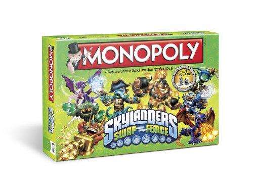 Winning Moves 43256 - Monopoli Skylanders Swap Force, Gioco da tavolo [lingua tedesca]