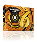 2013 Bridgestone e6 Golf Balls - Box of a Dozen / 12 White / Yellow *ULTRASOFT*-Yellow