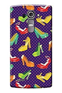 LG G4 Cover, Premium Quality Designer Printed 3D Lightweight Slim Matte Finish Hard Case Back Cover for LG G4 + Free Mobile Viewing Stand