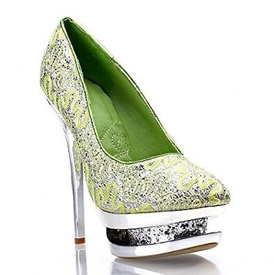 fashion toe stilettos platforms
