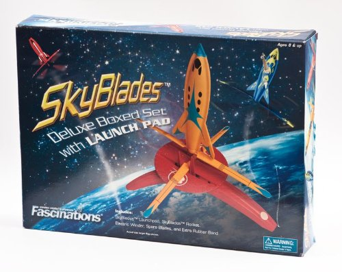 Fascinations SkyBlades Deluxe Set With Launchpad