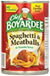 Chef Boyardee Spaghetti and Meatballs...