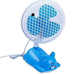 NOVICZ Electric Table Fan 28 W 250 MM Noiseless Personal Fan for Office Bedroom Study Room Etc