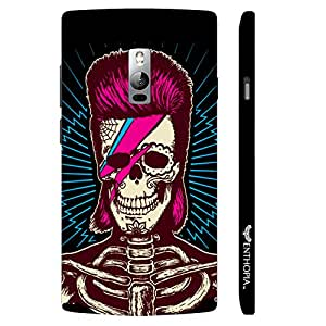 One Plus Two Punk Skull designer mobile hard shell case by Enthopia