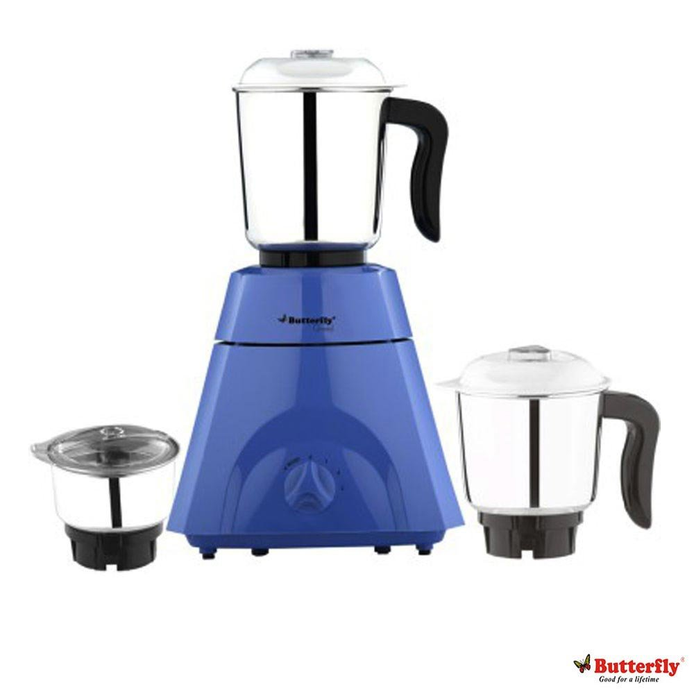 Butterfly Kitchen Appliances Buy Butterfly Grand 500 Watt Mixer Grinder Blue Online At Low