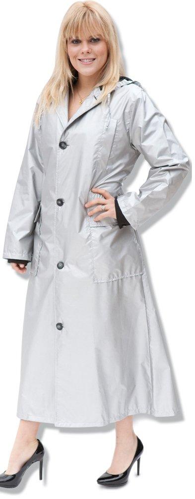 Shaynecoat Raincoat for Woman Silver