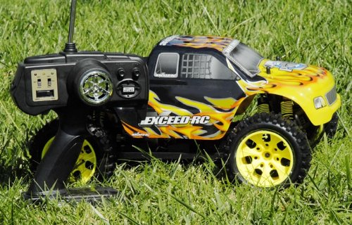 1/10 2.4Ghz Exceed Rc Electric Infinitive Ep Rtr Off Road Truck (Fire Yellow)