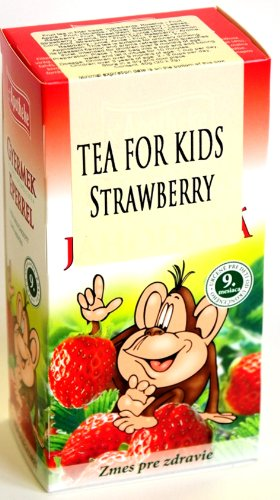 Strawberry Tea for Children natural fruit and herbs drink