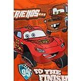 Disney Cars Lightning McQueen Mater Friends... Orange T-Shirt 2T-4T