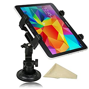 EnGive Adjustable Dashboard Car Mount Holder for Apple iPad Air 2/iPad Mini 3/Samung Galaxy Tab S 10.5 8.4/Kindle Fire HDX 8.9/Google Nexus 9/Kindle Fire HD 7 by Engiveaway