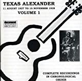 Texas Alexander, Vol. 1 (1927)