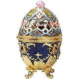 Design Toscano FH1364 Hummingbird Enameled Egg