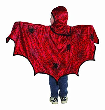 Creative Education's Spider Cape With Hood (Medium)