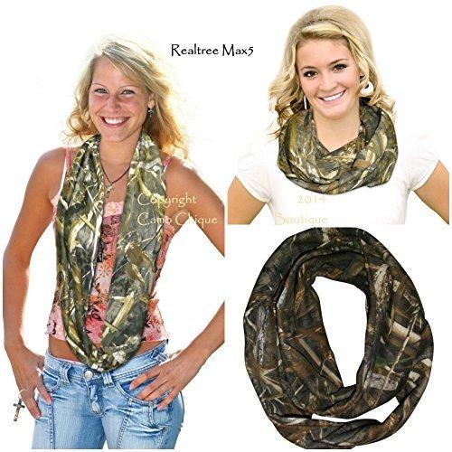 realtree-womens-sweatshirt-camo-infinity-scarf-max-5-osfm-by-realtree