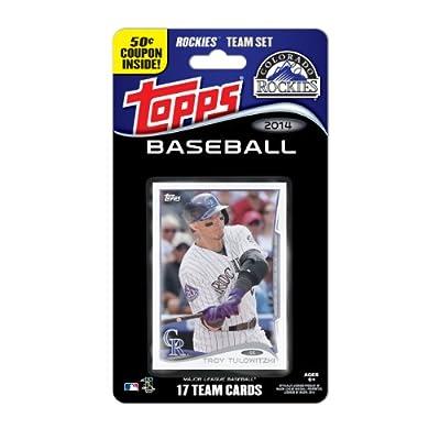 MLB Colorado Rockies 2014 Team Set Trading Card