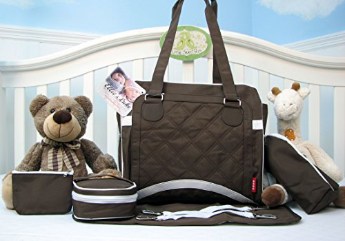 SoHo New Yorker Pack & Go 6 in 1 Deluxe Tote Brown *Limited time offer !* - 1