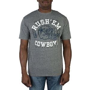 Dallas Cowboys Mens Conviction Triblend T-Shirt by Dallas Cowboys