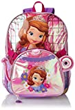 Disney Little Girls? Sofia The First Backpack with Shaped Lunch