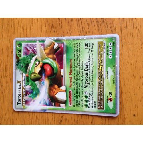 Amazon.com: Pokemon Promo Card Holofoil Torterra Level X DP09