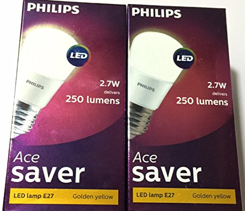 Philips-Ace-Saver-2.7W-E27-250L-LED-Bulb-(Warm-White,-Pack-Of-2)