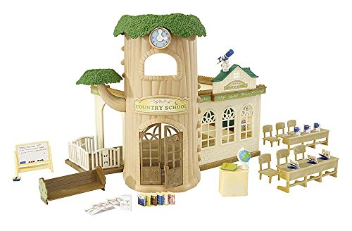 Calico Critters Country Tree School Toy (Lil Woodzeez Treehouse compare prices)