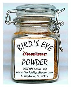 Birdseye Pure Powder 13 Oz 36g - Organic Eco Friendly Gifts - Eco-spices