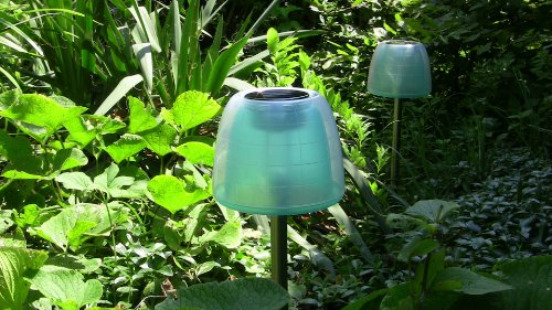 led designer solarlampe qualle solarleuchte gartenlampe gartenleuchte solar laterne. Black Bedroom Furniture Sets. Home Design Ideas