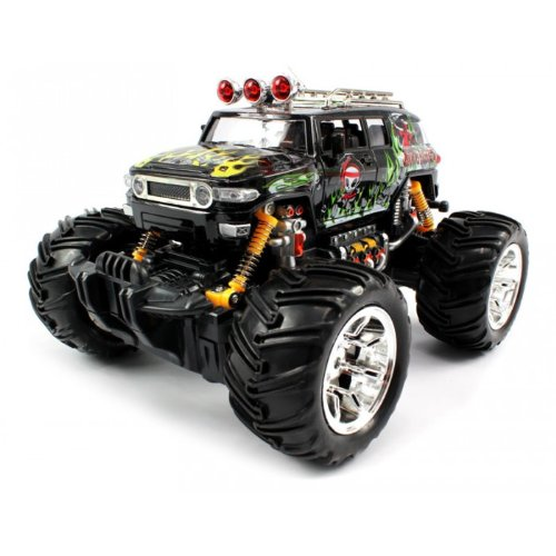 Big Size QUALITY Electric Full Function 1:16 Graffiti Toyota FJ Cruiser Monster RTR RC Truck (Colors MAy Vary) QUALITY Remote Control RC Trucks w/ Working Suspension