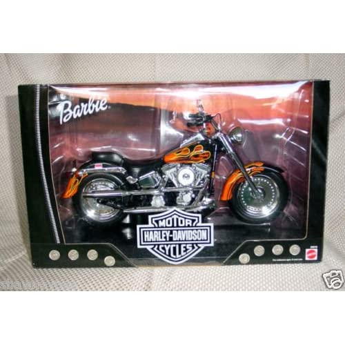 Barbie Harley Davidson Fat Boy Motorcycle with Flames
