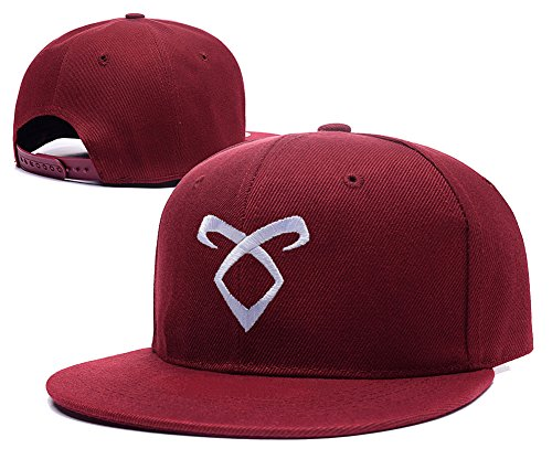 ZZZB Shadowhunters TV Show 2015 Logo Adjustable Snapback Embroidery Hats Caps - Red (Shadowhunter Gear compare prices)
