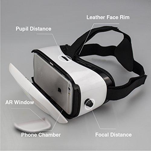 DEFAIRY Pupil & Focal Distance Adjustable QR Code Virtual