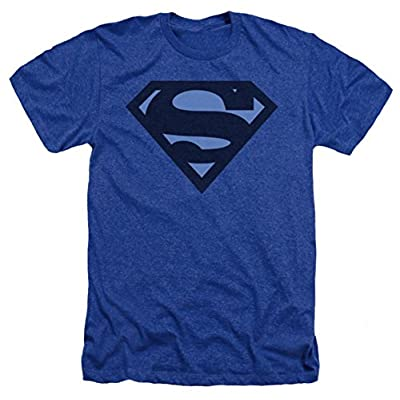 Superman: Blue S Shield Heather T-Shirt