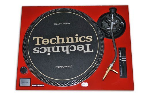 Technics Red Face Plate for Technics SL-1200