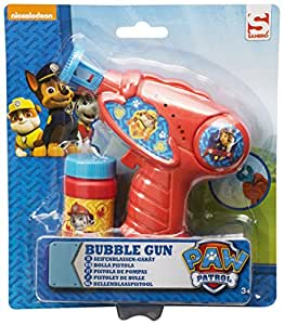 Amazon.com: Paw Patrol Bubble Gun Toy Battery Operated For Kids, Boys