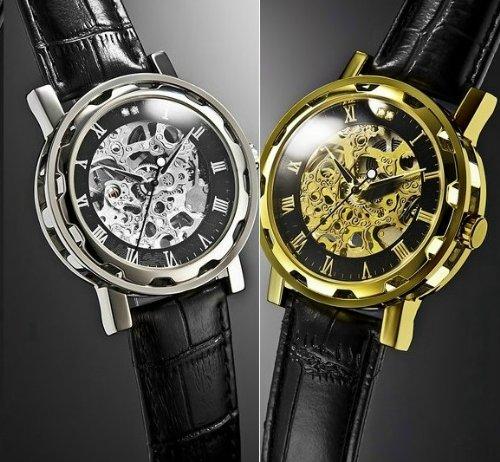 オムバーガー 天然ダイヤスケルトン時計 (Homberger 腕時計 宝石鑑別書付)