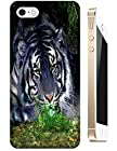 Tiger Case Cover Hard Back Cases Beautiful Nice Cute Animal hot selling cell phone cases for Apple Accessories iPhone 4/4S # 6