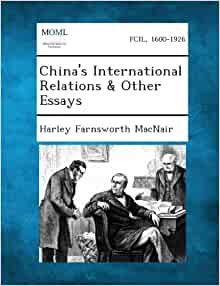 ... for International Policy. Essays on the Foreign Relations of England
