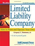 img - for Limited Liability Company: How to Form and Operate Your Own (Self-Counsel Legal Series) book / textbook / text book