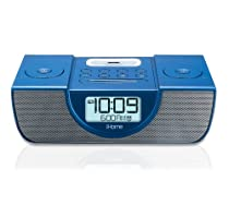 iHome iP42 Dual Alarm Clock Radio for iPod and iPhone (Blue)