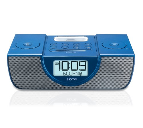 ihome Dock: iHome iP42 Dual Alarm Clock Radio for iPod and ...