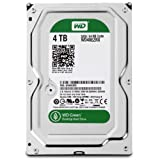 WD Green 4TB Desktop Hard Drive: 3.5-inch, SATA 6 Gb/s, IntelliPower, 64MB Cache WD40EZRX