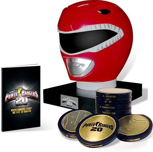 Mighty Morphin Power Rangers: Legacy Collection Complete Seasons 1-20 98 DVD Set w/ Art Book (Power Rangers Helmet)