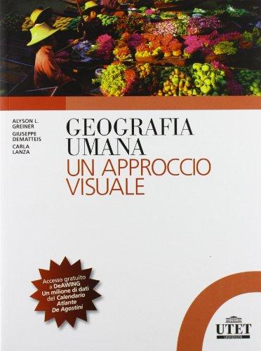 Geografia umana Un approccio visuale PDF