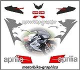 Aprilia RS50 2006 White Bike replica decals