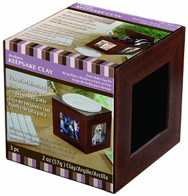Sculpey Pawprint Memory Box Kit