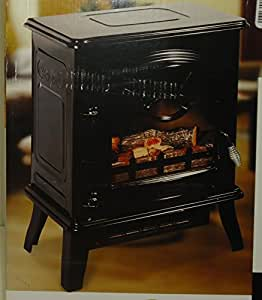 Decor Flame Electric Fireplace Heater Stove 1400w 4200 Btus Home Kitchen