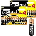 DURACELL Plus Power MN1500 Pack de pi...